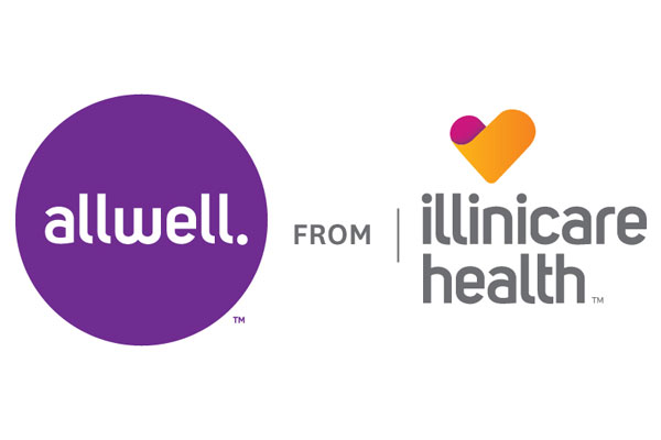 Logo of Allwell from Illinicare Health a healthcare program of Centene Corporation