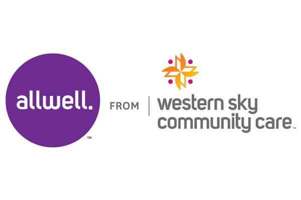 Logo of Allwell from Western Sky Community Care, a healthcare program of Centene Corporation