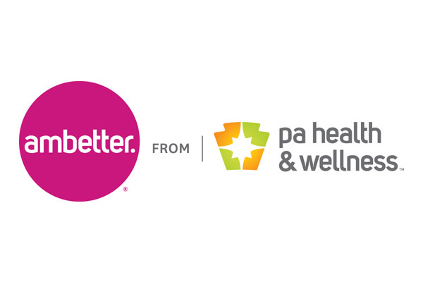 Logo of Ambetter from PA Health & Wellness, a healthcare program of Centene Corporation