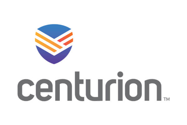 Logo of Centurion a healthcare program of Centene Corporation